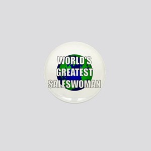 World's Greatest Saleswoman Mini Button